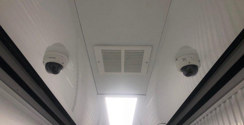 Security cameras on-site